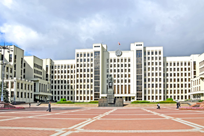 Minsk - House of Government - Dennis Jarvis -  CC BY-SA 2.0