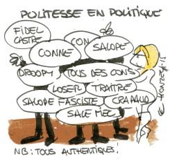Politesse en politique