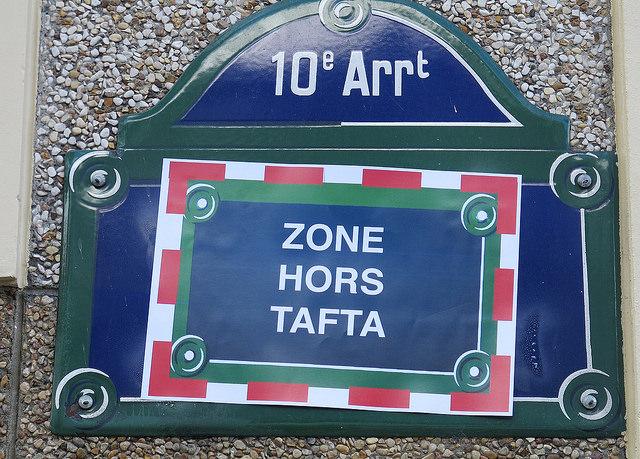 Stop Tafta 10 octobre 2014 Paris credits Elias Sh (CC BY-NC-SA 2.0)