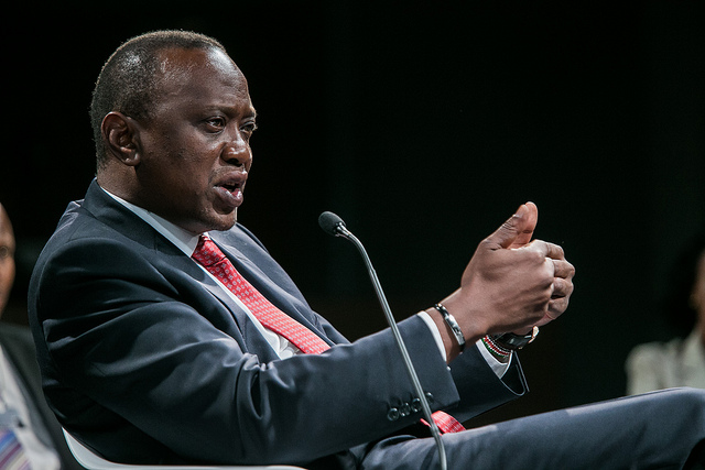 one to one kenyatta credits world economic forum  (CC BY-NC-SA 2.0)