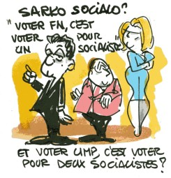 "Sarkozy : ""voter FN, c'est voter PS""... et voter UMP ?"