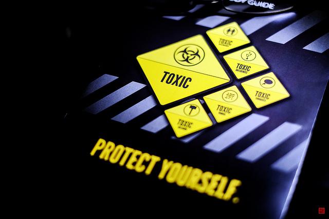 toxic credits Daniel Go  (CC BY-NC 2.0)