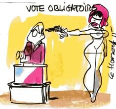 vote obligatoire rené le honzec