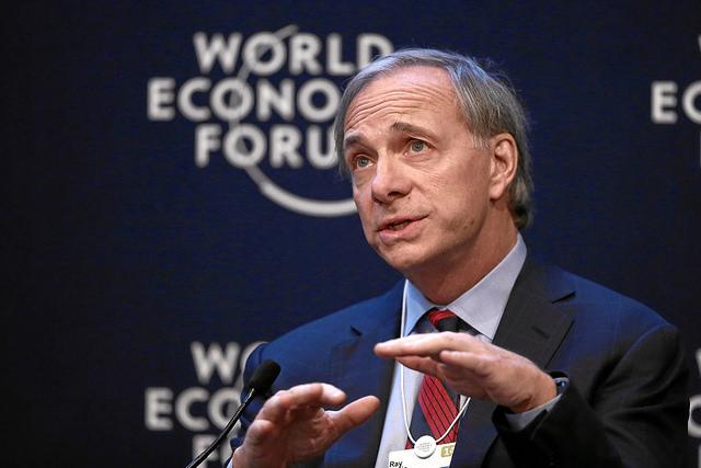 Global Financial Outlook: Ray Dalio credits  World Economic Forum (CC BY-NC-SA 2.0)