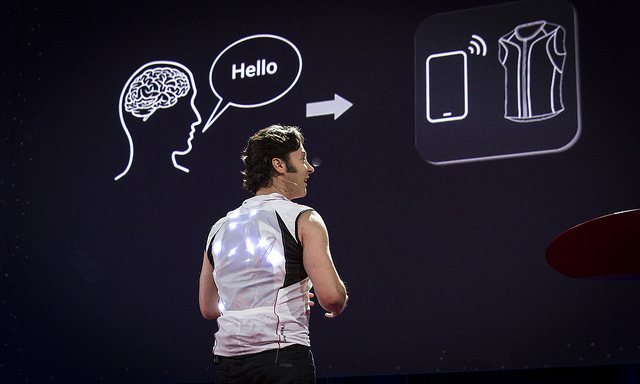 David Eagleman - March 16-20, 2015, Vancouver Convention Center, Vancouver, Canada - Photo Bret HartmanTED (CC BY-NC 2.0)