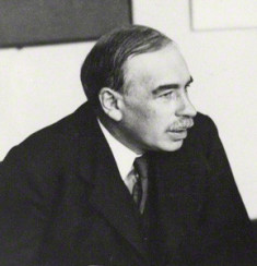 NPG x19133; Jan Christian Smuts; John Maynard Keynes, Baron Keynes by Unknown photographer