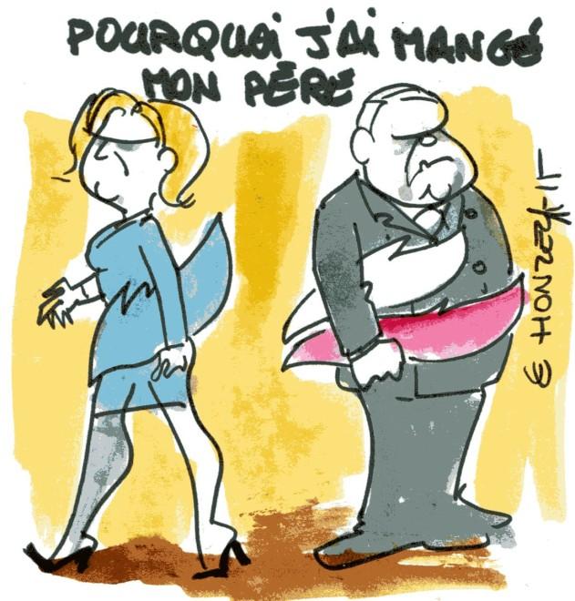 Le Pen rené le honzec
