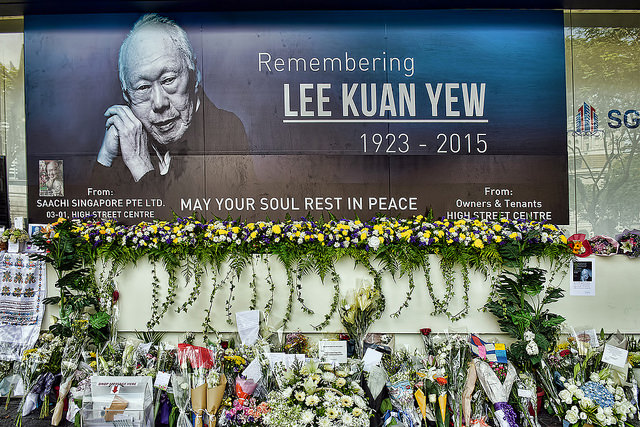 Remembering Lee Kuan Yew credits Choo Yut Shing (CC BY-NC-SA 2.0)