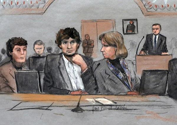 Tsarnaev dessin