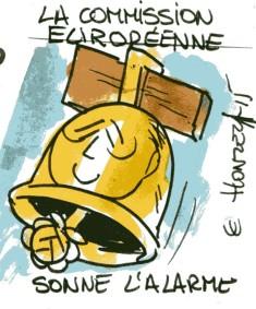 commission européenne hollande rené le honzec