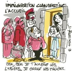 Immigration : l'accueil
