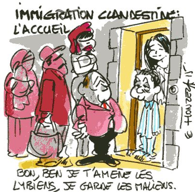 immigration clandestine rené le honzec