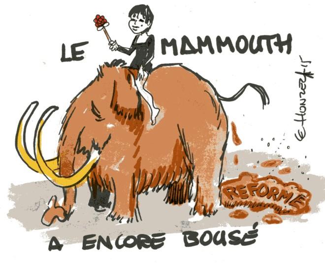 mammouth rené le honzec