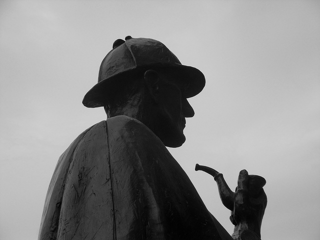 sherlock holmes statue credits Julien Breme (CC BY-ND 2.0)