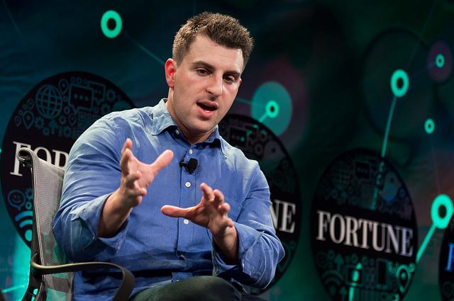 Brian Chesky, CEO, Airbnb et père d'une des innovations majeures du XXIe siècle