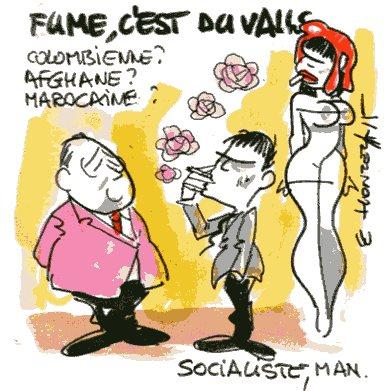 Contrepoints461 - Manuel Valls fumette - René Le Honzec