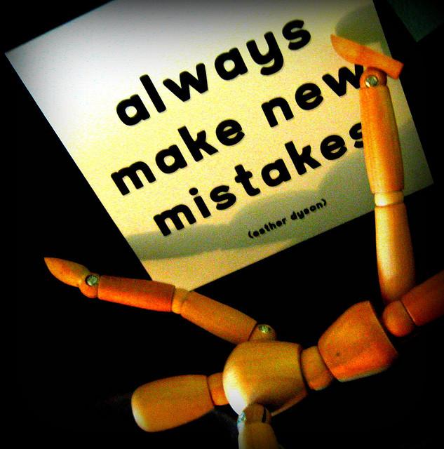 Apprendre de l erreur c est bien innover dans l erreur c est mieux contr - Erreur credit immobilier ...