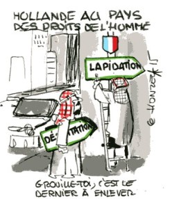 Hollande au pays des droits de l'homme