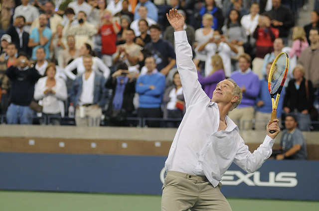 John McEnroe - US Open 2009 4th round 584  (CC BY 2.0)
