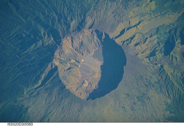 Mount Tambora Volcano, Indonesia - NASA, International Space Station Science (CC BY-NC 2.0)