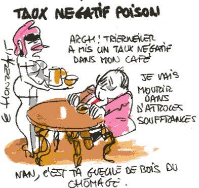 Taux négatif - René Le Honzec - Contrepoints436