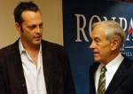 L'acteur Vince Vaughn soutient la candidature libérale de Rand Paul