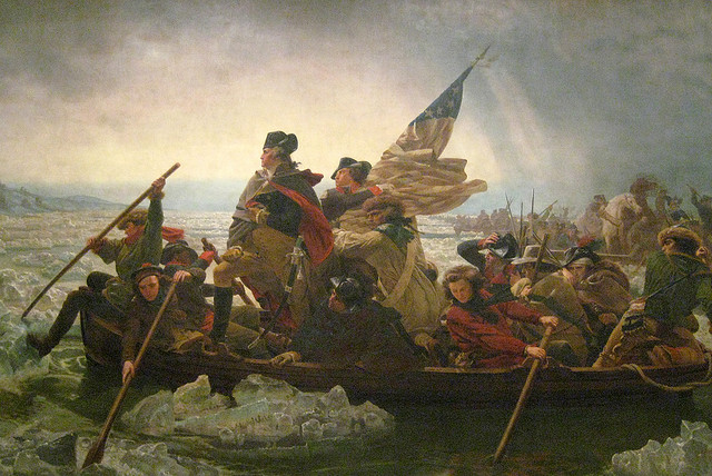 NYC - Metropolitan Museum of Art: Washington Crossing the Delaware credits Wally Gobetz licence  (CC BY-NC-ND 2.0)), via Flickr.