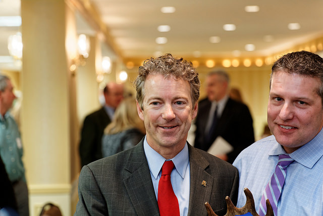 Carroll County Republican Committee Annual Lincoln Day Dinner with U.S. Senator Rand Paul credits Michael Vadon licence (CC BY 2.0)), via Flickr.