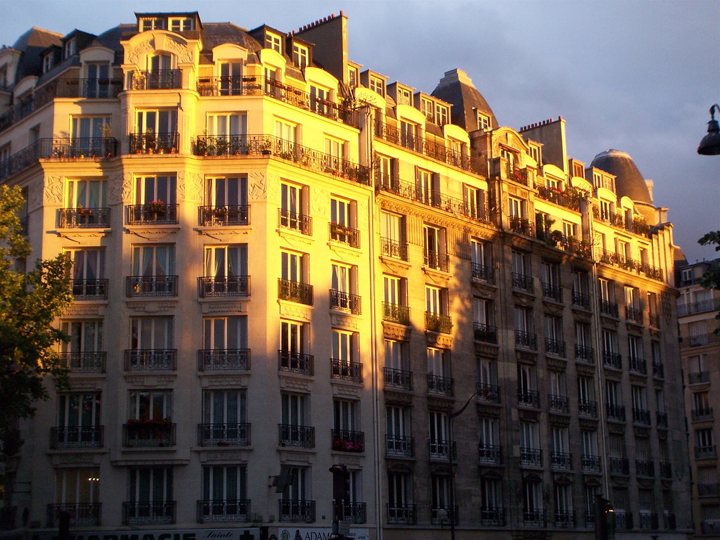 Façades d'immeubles à Paris -  Luc Legay - cc by sa 2.0