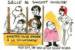 Salle de shoot socialiste