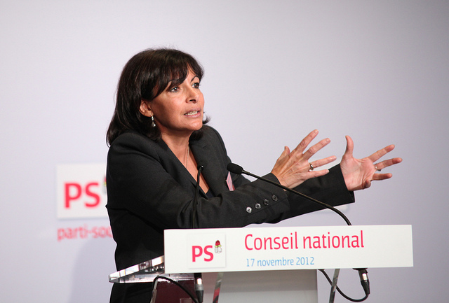 Anne hidalgo credits Parti Socialiste via Flickr ((CC BY-NC-ND 2.0)
