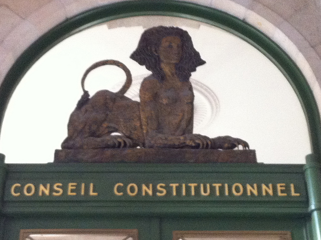Conseil constitutionnel, Paris - Crédit photo : Jeanne Menj via Flickr (CC BY-ND 2.0