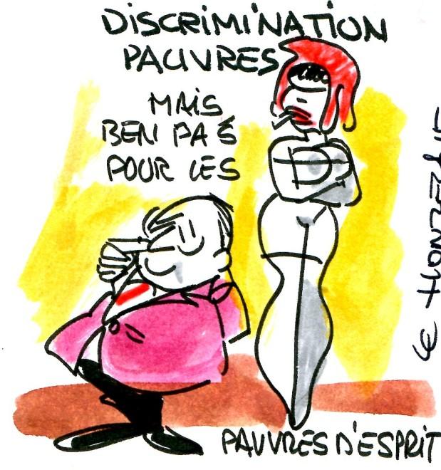 Contrepoints589 Discrimination Pauvres - René Le Honzec