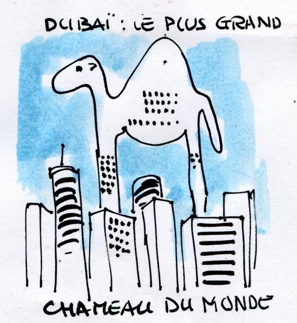 Contrepoints613 - Dubaï - René Le Honzec