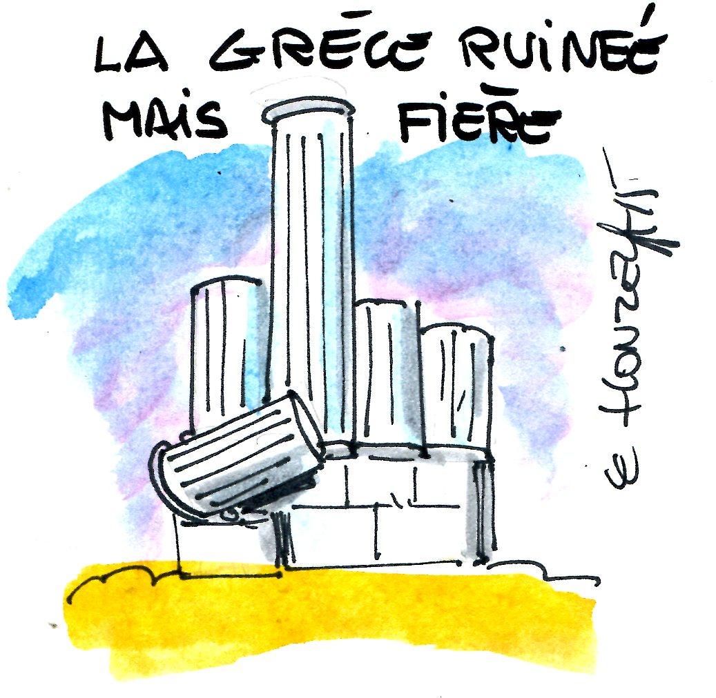 Humour et Politique - Page 21 Grèce-ruinée-rené-le-honzec