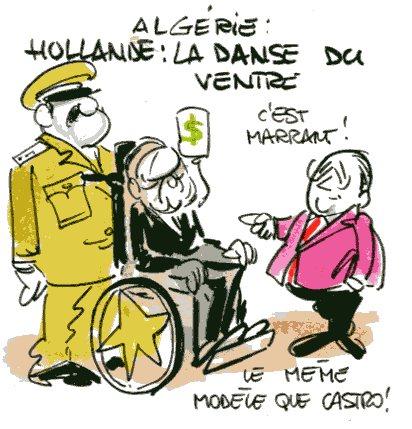 Hollande Algérie rené le honzec