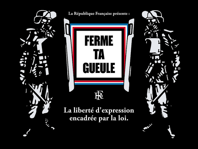 Liberté d'expression - Christopher Dombres (CC BY 2.0)