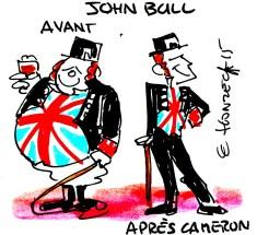 René le honzec John Bull Royaume Uni David Cameron