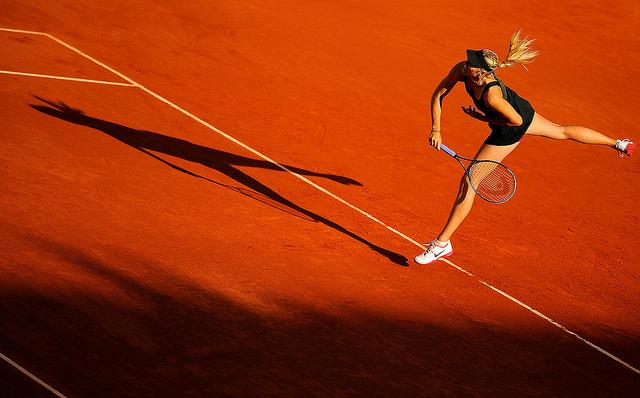 Roland Garros - Maria Sharapova - Credits Rocor  (CC BY-NC 2.0)