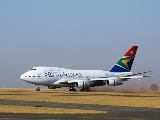 South African Airways - Darren Olivier (CC BY-NC 2.0)