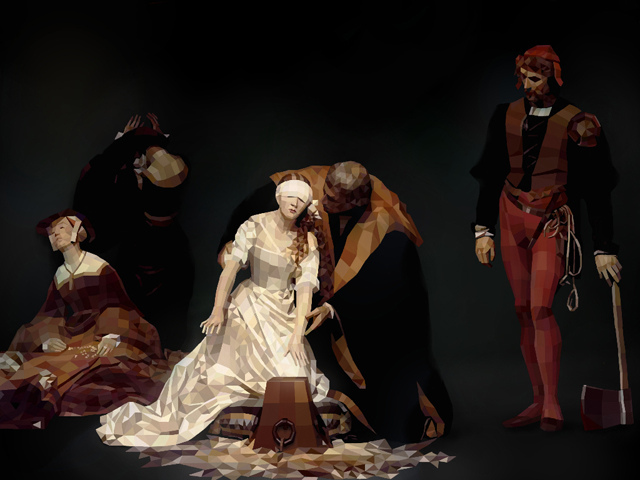 Delaroche The execution of lady jane grey credits Paul Vera-Broadbent via Flickr ( (CC BY-NC-ND 2.0)