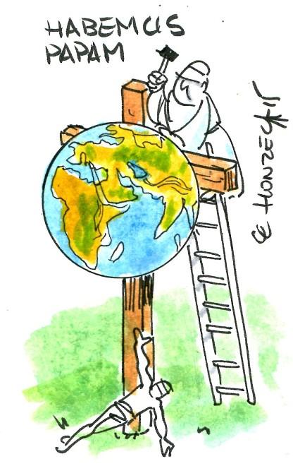 pape françois climat rené le honzec
