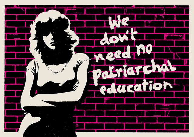 Patriarchal education 2014 credits Christopher Dombres via Flickr ((CC BY 2.0))