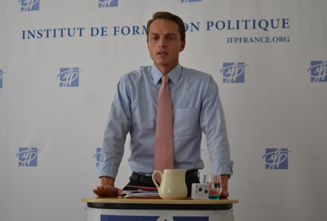Alexandre Pesey de l'Institut de Formation Politique