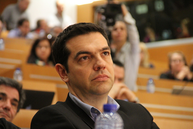 Alexis Tsipras - Crédit : Die Linke via Flickr (CC BY-NC 2.0
