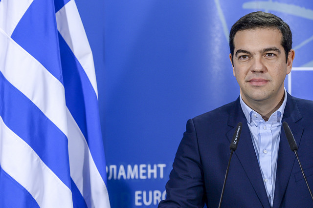 Alexis Tsipras - Crédit photo : Martin Shultz via Flickr (CC BY-NC-ND 2.0)