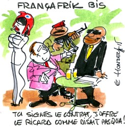 Francafrique (Crédits : René Le Honzec-Contrepoints.org, licence CC-BY 2.0)