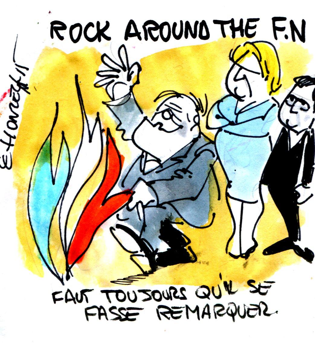 Contrepoints690 - Le Pen Front National - René Le Honzec