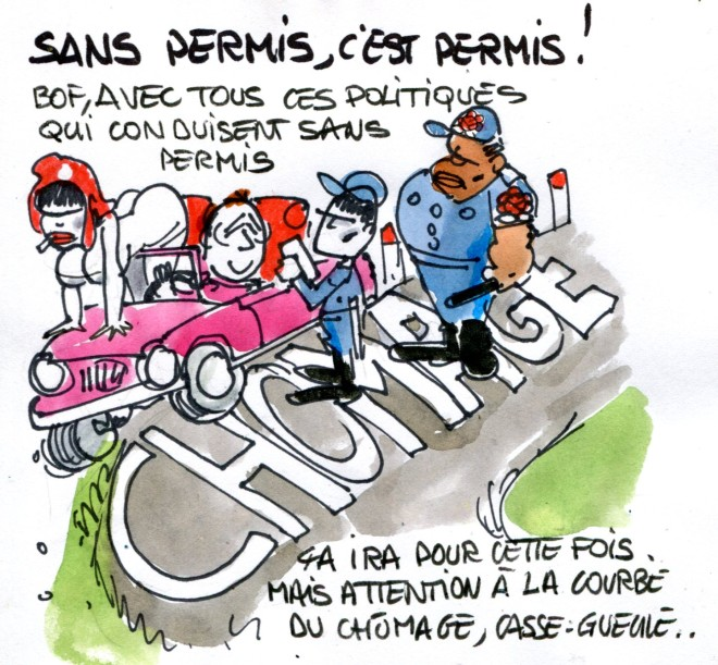 Sans permis René Le Honzec