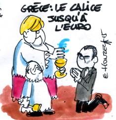 Grèce  le calice jusqu'à l'euro